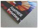 Custom 5mm foamex prints