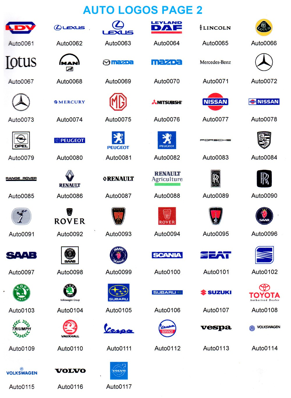 Car Logos And Stripe Prices Car Van Vehicle Logo Price