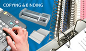 Photo copying and binding in the UK