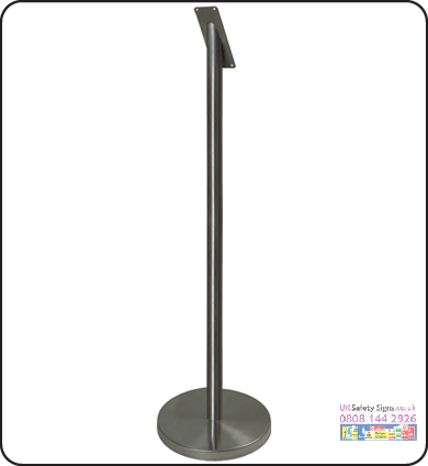 Smokers pole freestanding 60 x 1000 mm