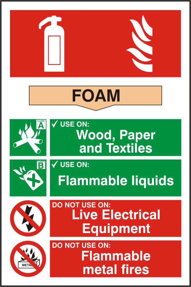 1mm rigid PVC signs on self-adhesive backing sign