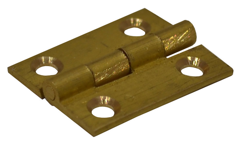 UK Butt Hinges Solid Drawn Brass Butt Hinges Self Coloured