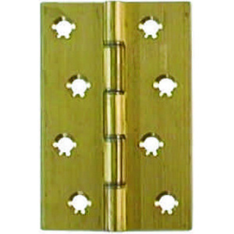 UK Self Coloured Butt Hinges Solid Drawn DSW Brass Butt Hinges