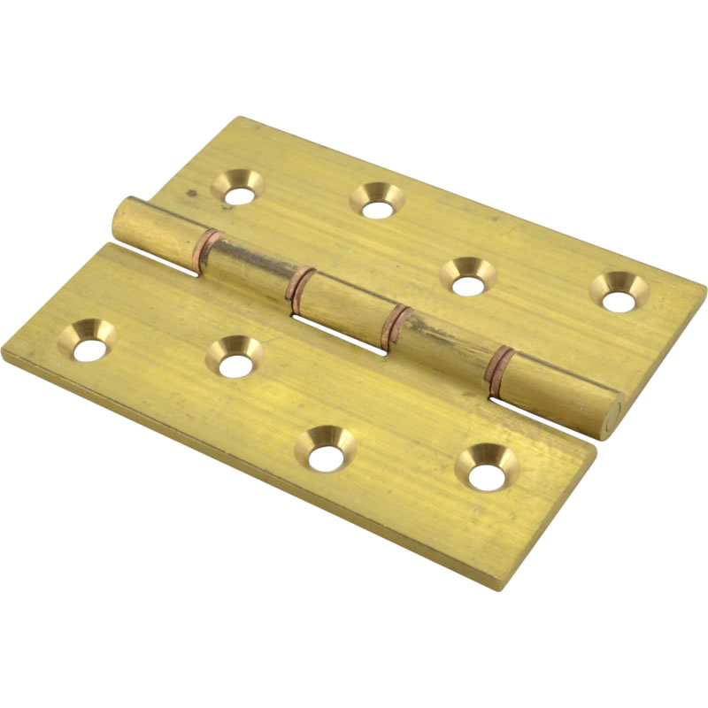 UK Self Coloured Butt Hinges Solid Drawn DPBW Brass Butt Hinges