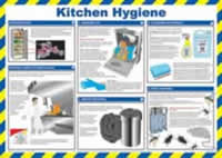 Safety Poster - Kitchen Hygiene Laminated Poster