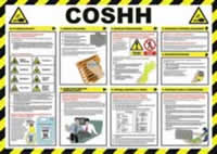 Safety Poster - COSHH Laminated Poster