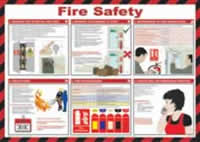 Safety Poster - Fire Safety Laminated Poster