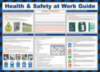 Safety Poster - Health & Safety at Work Guide Laminated Poster