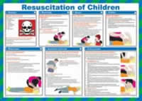 Safety Poster - Resuscitation of Children Laminated Poster