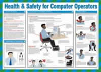 Safety Poster - Health & Safety for Computer Operators Laminated Poster