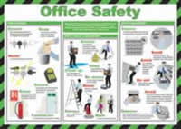 Safety Poster - Office Safety Laminated Poster
