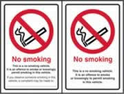 No smoking Double Sided - SA D / S 100 x 150mm