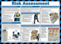Safety poster - Risk Assessment - LAM 590 x 420mm