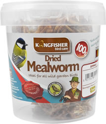 100g Dried Mealworm