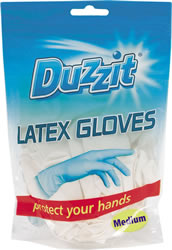 Latex Gloves 18 Packet Medium