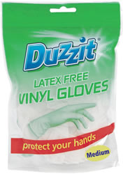 Vinyl Gloves 18 Packet Medium