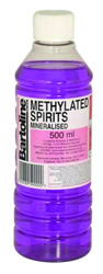 500 ml Bottle Mineralised Methylated Spirit DGN