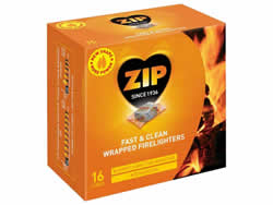 Zip Energy Wrapped Firelighters 16 Packet DGNPlease note new Packet size