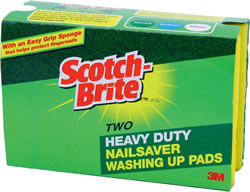 Scotch-Brite Nailsaver Washing Up Pads