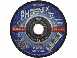 100x3x16 mm Depressed Centre Metal Cutting Disc