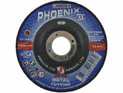 115x3x22 mm Depressed Centre Metal Cutting Disc
