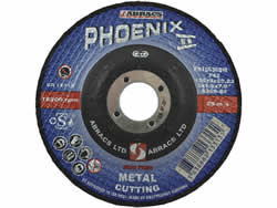 125x3x22 mm Depressed Centre Metal Cutting Disc