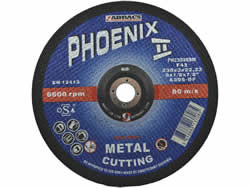 230x3x22 mm Depressed Centre Metal Cutting Disc