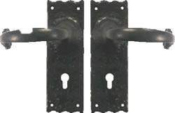 150 mm x 44 mm 6 inch x 1 3 / 4 inch Tudor Lock Set