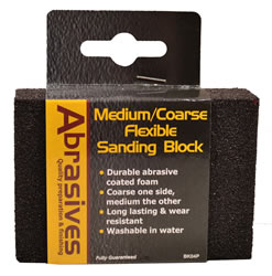 Medium / Coarse Flexible Sanding Block