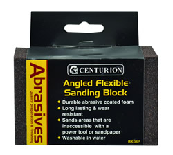Angled Flexible Sanding Block