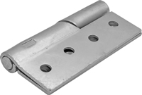 100 mm 4 inch SC Steel Right Hand 466 Pattern Steel Rising Butt Hinges 1 pair