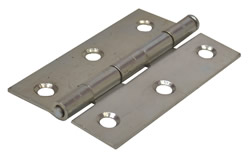 75 mm Zinc Plated 1840 Pattern Loose Pin Butt Hinges 1 pair