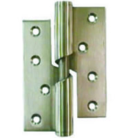 75 mm 3 inch Electro Brass Right Hand 466 Pattern Steel Rising Butt Hinges 1 pair