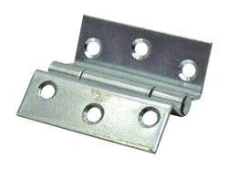 63 mm 2 1 / 2 inch Zinc Plated 1951 Pattern Stormproof Hinges 1 pair