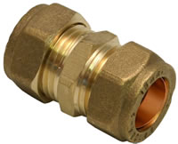 15 mm Compression Straight Coupling
