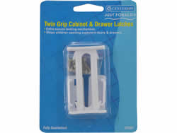Twin Grip Cabinet and Drawer Latch Packet of 2