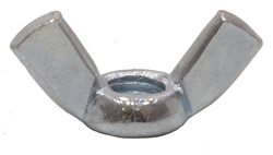 M8 Zinc Plated Wing Nuts
