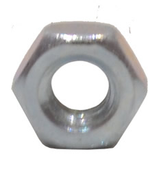 M4 Zinc Plated Steel Hex Nuts