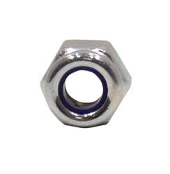 M4 Zinc Plated Nylon Locking Nuts