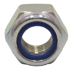 M12 Zinc Plated Nylon Locking Nuts