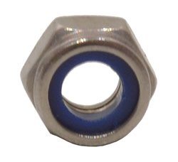 M6 Stainless Steel Nylon Locking Nuts