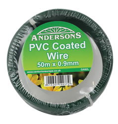 50m x 0.9 mm Reel 1mm plastic PVC Coated Wire
