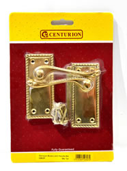 100 mm 4 inch x 1 5 / 8 inch Georgian Lever Latch Handle