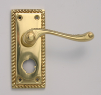 Polished Brass Georgian Suite Privacy