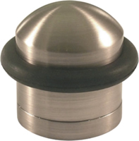Polished Chrome Effect Dome Door Stop