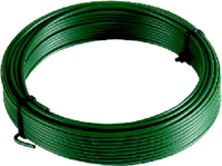 30m x 1 mm 1mm plastic PVC sign Coated Garden Wire