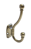 90 mm Chrome Plated Ball End Hat and Coat Hook