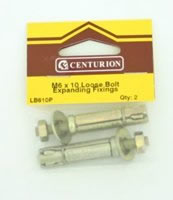 M6 x 10 mm Expanding Loose Bolt Packet of 2
