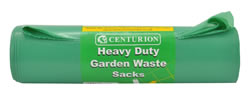 18 inch x 29 inch x 39 inch 150 Gauge Green Garden Sacks Packet of 10