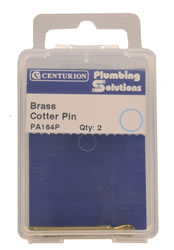 1 1 / 2 inch Brass Cotter Pin Packet of 2